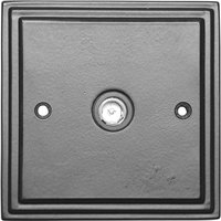 Black Hammered Finish TV Coax Wall Socket 5119
