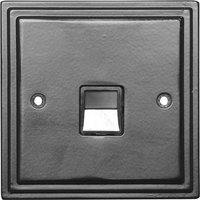 Black Hammered Finish Bt Master Wall Socket 5125