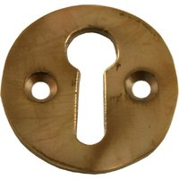 Solid Bronze Keyhole Cover 32mm Diameter