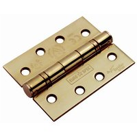 PVD Stainless 102x76x3mm Ball Bearing Door Hinge In Pairs