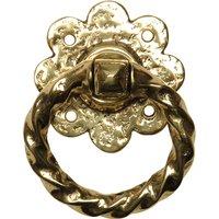 Antique Cast Brass Range Ring Door Or Gate Handle 632
