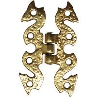 Antique Cast Brass Range Hinges 89x57mm 926 in Pairs