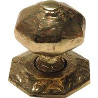 Antique Cast Brass Range Front Door Knob 70mm 3064