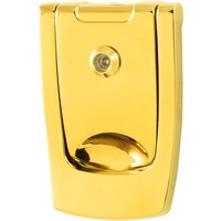 Bright Brass Contemporary Door Knocker