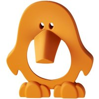 Orange Penguin Cupboard Handle
