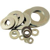 Pack of 10 Light Steel Washer BZP