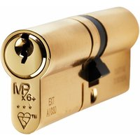 Brass 3* Euro Profile Double Cylinder