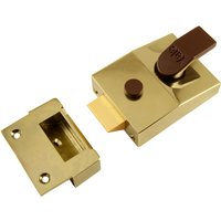 Double Locking Yale Lock 89 Brasslux