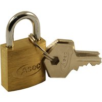 Solid Brass 20mm Padlock