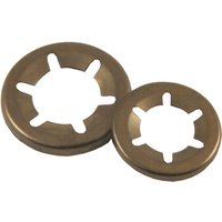Pack of 10 Star Lock Washers