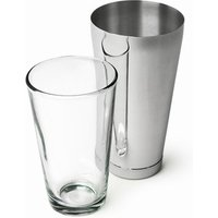 Click to view product details and reviews for Mako Large Tin Boston Cocktail Shaker Tin Glass Set.