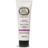 Roots & Wings Organic Lavender & Chamomile Hand Cream 125ml