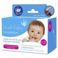 Brush-Baby Dental Wipes 28 wipes