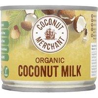Coconut Merchant Organic Coconut Milk 200ml