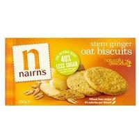 Nairn's Oat Biscuits Stem Ginger 200g