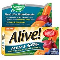 Nature's Way Alive! Men's 50+ Multi-Vitamins 30 tabs