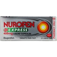 Nurofen Express Liquid Capsules - 400mg 10 capsules