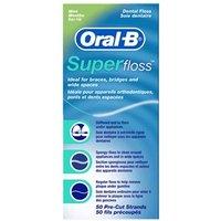 Oral-B Super Floss 50 Pre-cut strands