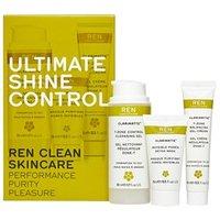 REN Ultimate Shine Control Kit Kit