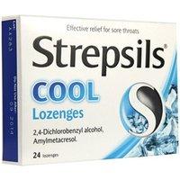 Strepsils Cool Lozenges 24 Lozenges