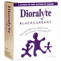 Dioralyte Sachets Blackcurrant (6)
