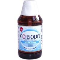 Corsodyl Alcohol Free Mint Flavour Mouthwash 300ml