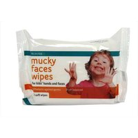 Numark Mucky Faces Wipes - 20 Soft Wipes