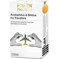 Proven Probiotics Acidophilus & Bifidus For Travellers - 14 Capsules
