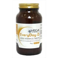 Vega EveryDay-D 400IU Vitamin D3 - 500 Tablets