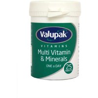 Valupak Multi Vitamin & Minerals - 25 Tablets