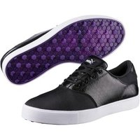Puma Tustin Saddle Ladies Golf Shoes Black UK 4