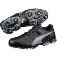 Puma Titan Tour IGNITE Disc Golf Shoes Black Quiet Shade UK 75 Standard
