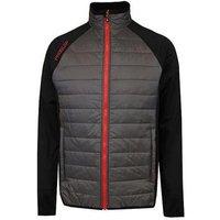 Proquip Therma Tour Full Zip Jacket Grey/Black/Red (PQ30)