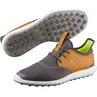 Puma IGNITE Spikeless Sport Golf Shoes Smoked Pearl Cathay Spice UK 7