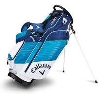 Callaway Chev Stand Bag White Teal Navy