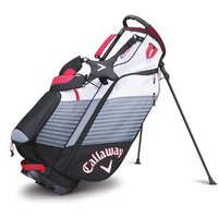 Callaway Chev Stand Bag Black White Red