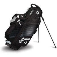 Callaway Chev Stand Bag Black Silver White