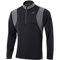 Mizuno Warm Layer 14 Zip Black Small