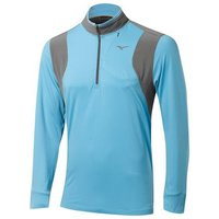 Mizuno Warm Layer 14 Zip Pale Blue Small