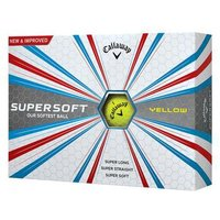 Supersoft Golf Balls 2017 1 Dozen Yellow