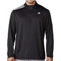 3 Stripes French Terry Sweatshirt Black Mens Small Black