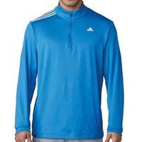 3 Stripes French Terry Sweatshirt Blast Blue Mens Small Blast Blue