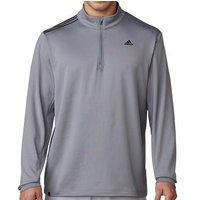 3 Stripes French Terry Sweatshirt Vista Grey Mens Small Vista Grey