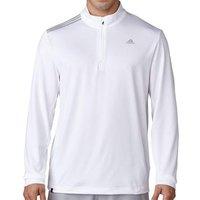 3 Stripes French Terry Sweatshirt White Mens Small White
