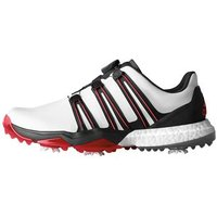 Powerband Boa Boost WD Mens UK 7 Wide White/Black/Red