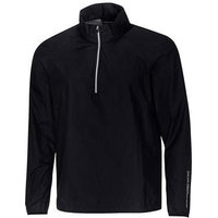 Bow Half Zip Wind stopper Mens Medium Black