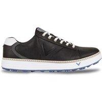 Del Mar Retro Golf Shoe Mens UK 9 Medium BlackBlue