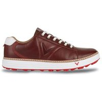 Del Mar Retro Golf Shoe Mens UK 7 Medium Brown