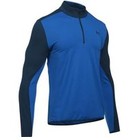 Under Armour EU Mid Layer 14 Zip Top Blue Marker Small