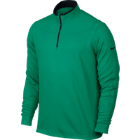 Nike Dri Fit Half Zip LS Top Teal